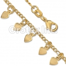 BR055 Gold Layered Kids Bracelet