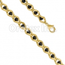 BR153  Orotex Gold Layered Bracelet