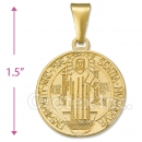 CH2-38  Gold Layered San Benito Charm