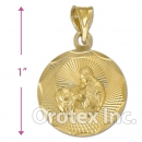 CH27-6G Gold Layered Charm
