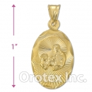 CH32-3G Gold Layered Charm
