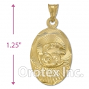 CH32-4 Gold Layered Charm