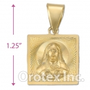 CL27B Gold Layered Charm