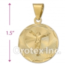 CL48B Gold Layered Charm