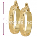 EH030 Gold Layered Hoop Earrings