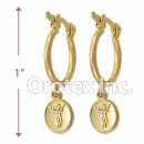 EH117 Gold Layered Hoop Earrings