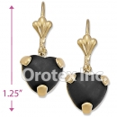 EL069 Gold Layered Long Earrings