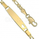 GFB008 Gold Layered Kids Bracelet