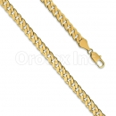 Orotex Gold Layered Fancy Bracelet Gauge 210