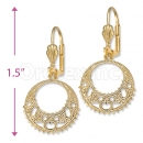 Orotex Gold Layered Earrings