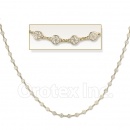 Orotex Gold Layered Fancy Necklace