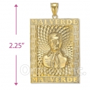 Orotex Gold Layered Malverde Charm