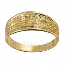 Orotex Gold Layered Ladies 15 años Ring