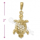 GLP 002 Gold Layered Fancy Charm