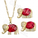 GLS 002 Gold Layered CZ Set