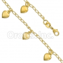 KB 005 Gold Layered Kids  Bracelet