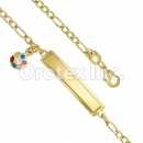 KB 006 Gold Layered Kids  Bracelet