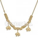 N006 Gold Layered Necklace