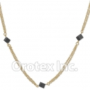 N007 Gold Layered Necklace