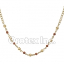 N015 Gold Layered Necklace