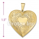 P001 Gold Layered Charm