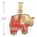 P014 Gold Layered  Charm