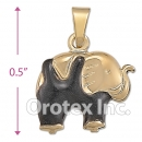 P017 Gold Layered  Charm