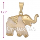 P018 Gold Layered  Charm