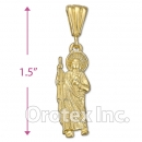 P86-19 Gold Layered Charm