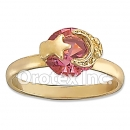R018 Gold Layered Women's Ring