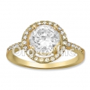 R066 Gold Layered CZ Ring