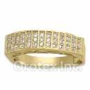 Gold Layered CZ Women's Band