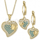 S 067 Gold Layered CZ Set