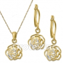 S 082  Oro Tex Gold Layered Set