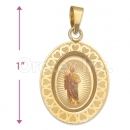 Oro Tex Gold Layered Pendant
