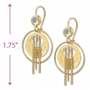 Orotex Gold Layered Earring