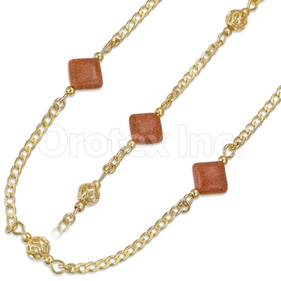 020004 Gold Layered Stone Set