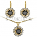 007009 Gold Layered CZ Set