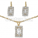 007014 Gold Layered CZ Set
