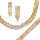 012001 Gold Layered CZ Set