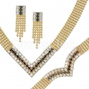 012003 Gold Layered CZ Set