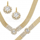 013001 Gold Layered CZ Set