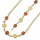 020001 Gold Layered Stone Set