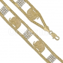 023009 Gold Layered CZ Bracelet