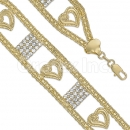 024005 Gold Layered CZ Bracelet