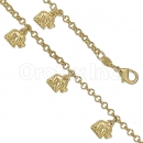026002 Gold Layered Bracelet