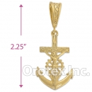040010 Gold Layered Charm