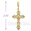 041011 Orotex Gold Layered Charm