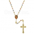047001B Gold Layered Rosary