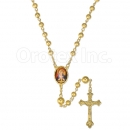 048003 Gold Layered Rosary